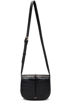 A.P.C. Black Croc Betty Bag