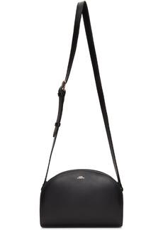 A.P.C. Black Demi-Lune Bag