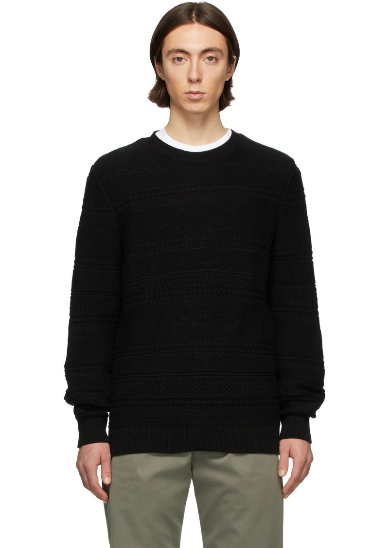 A.P.C. Black Nicolas Sweater