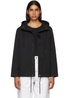 A.P.C. Black Paintball Coat