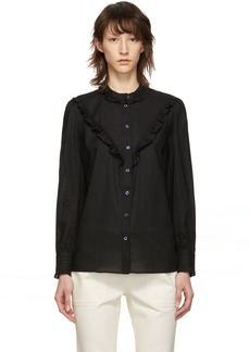 A.P.C. Black Polly Blouse
