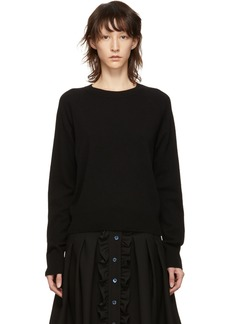 A.P.C. Black Stirling Sweater