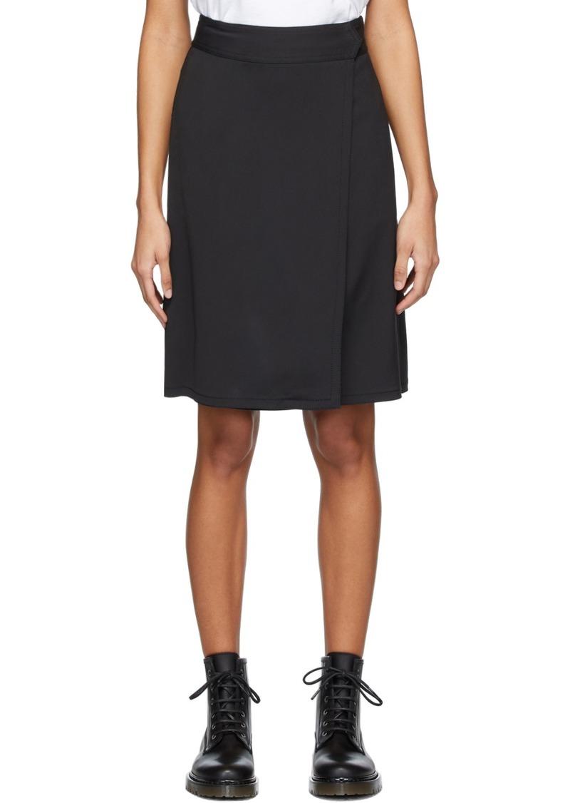 A.P.C. Black Stitch Skirt