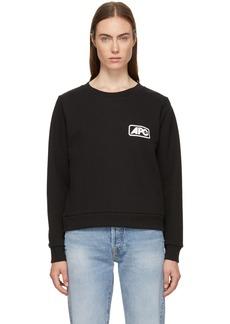 A.P.C. Black U.S. Odette Sweatshirt