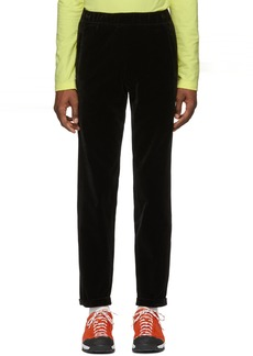A.P.C. Black Velvet James Trousers