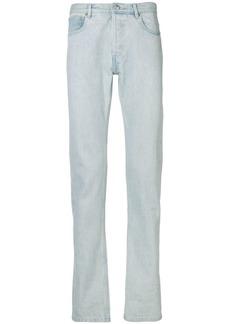A.P.C. bleached slim jeans