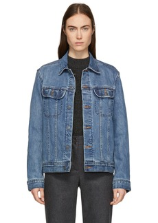 A.P.C. Blue Denim US Jacket