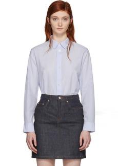 A.P.C. Blue Gina Shirt