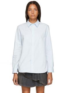 A.P.C. Blue Poplin Gina Shirt