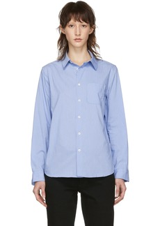 A.P.C. Blue Striped Femme Shirt