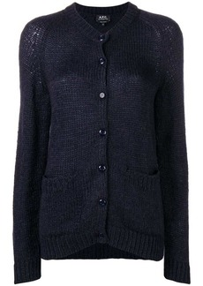 A.P.C. button knit cardigan