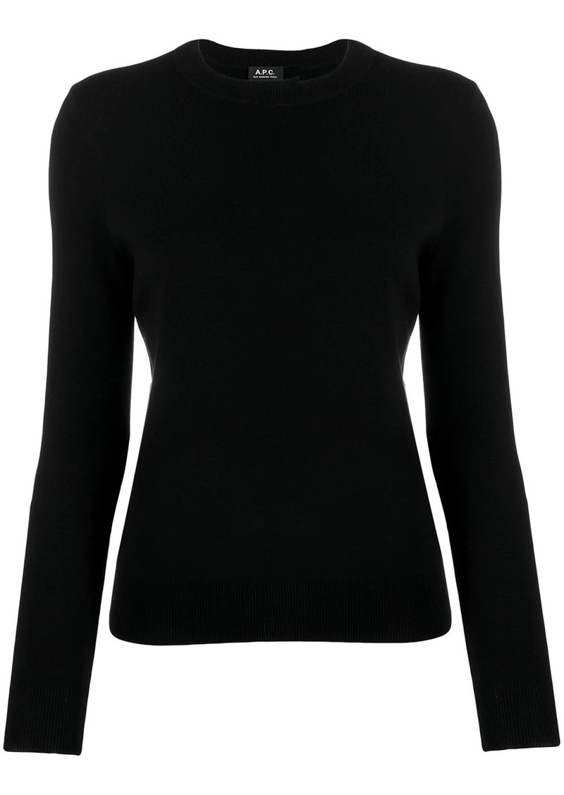 A.P.C. button shoulder jumper