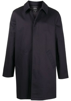 A.P.C. button-up long-sleeved coat