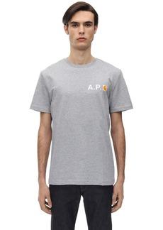 A.P.C. Carharrt Cotton T-shirt