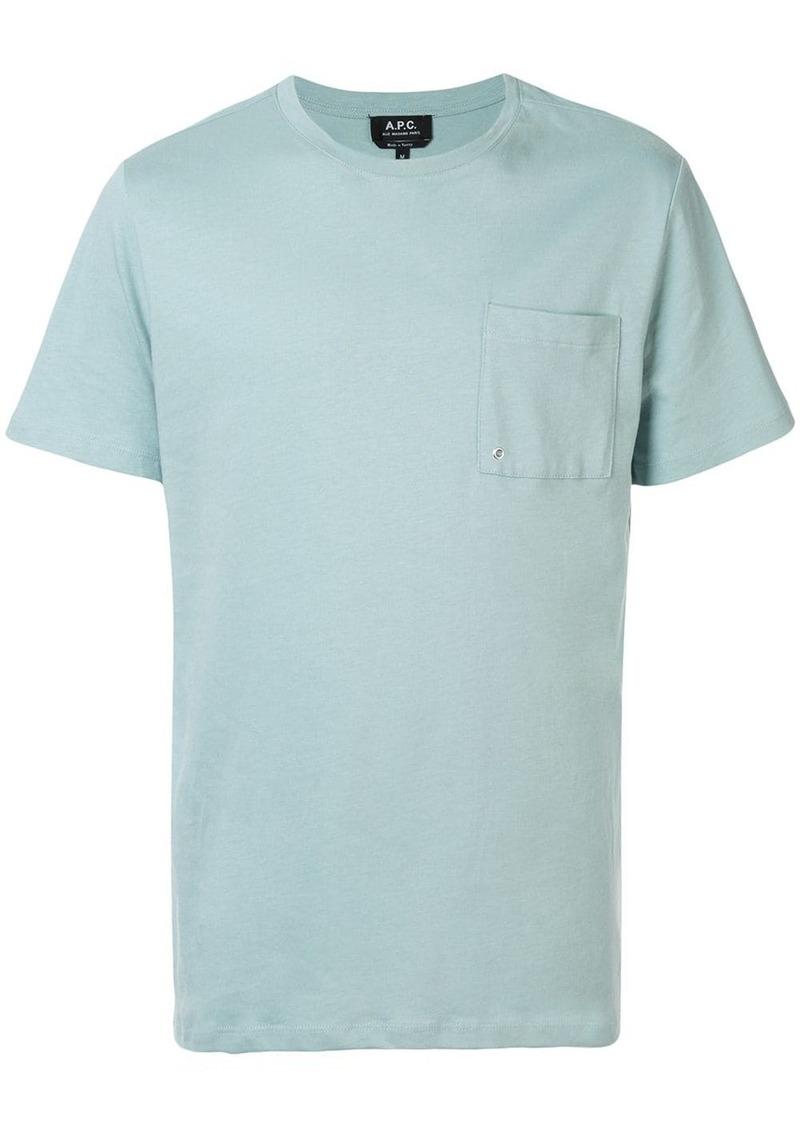 A.P.C. chest pocket T-shirt