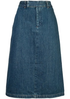 A.P.C. classic denim skirt