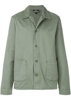 A.P.C. classic fitted jacket