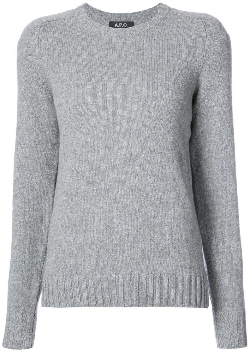 A.P.C. classic fitted sweater