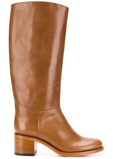 A.P.C. classic knee-high boots