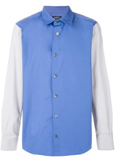A.P.C. colour block shirt