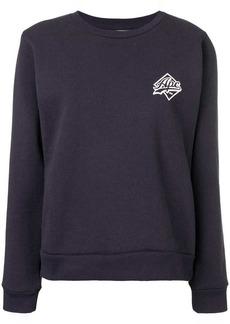 A.P.C. contrast logo sweatshirt