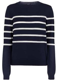 A.P.C. Cordelia striped cotton-blend sweater