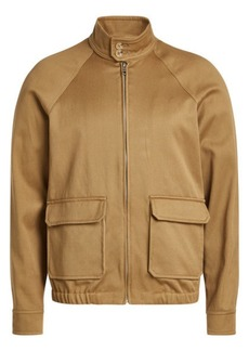 A.P.C. Cotton Jacket with Linen