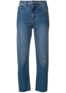 A.P.C. cropped slim fit jeans