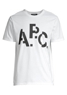 A.P.C. Decale Logo T-Shirt