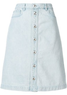 A.P.C. denim button skirt