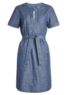 A.P.C. Denim Dress with Belt