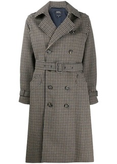 A.P.C. double-breasted coat