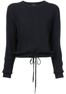 A.P.C. drawstring hem sweater