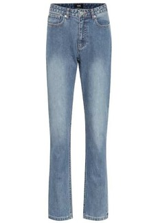 A.P.C. Droit high-rise straight jeans