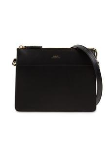 A.P.C. Ella Mini Leather Shoulder Bag