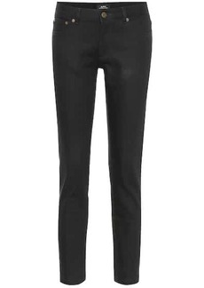A.P.C. Etroit Court low-rise straight jeans