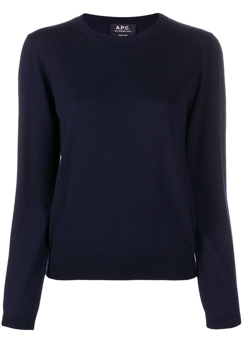 A.P.C. fine knit jumper