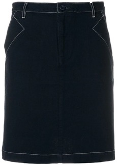 A.P.C. fitted short skirt