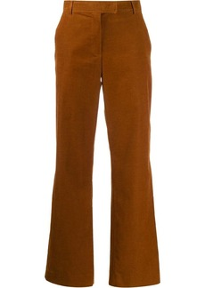 A.P.C. flared corduroy trousers
