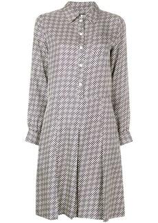 A.P.C. floral shirt dress