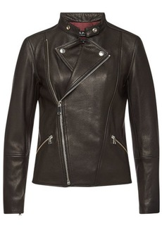 A.P.C. Florence Leather Jacket