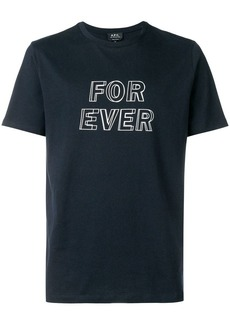 A.P.C. for ever T-shirt