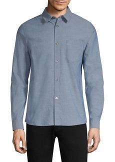 A.P.C. Franklin Cotton Button-Down Shirt