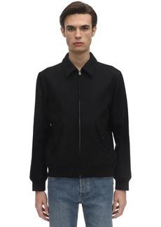 A.P.C. Gaspard Wool Blend Jacket