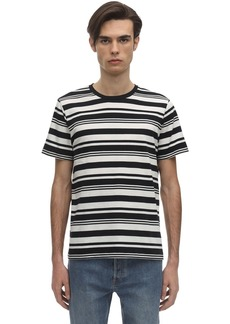 A.P.C. Gilbert Striped Cotton Jersey T-shirt