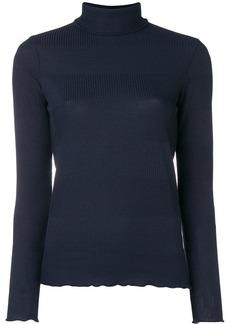 A.P.C. high neck knit sweater