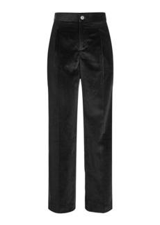 A.P.C. High Waist Velvet Pants