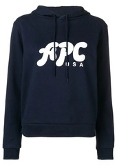 A.P.C. hooded sweatshirt
