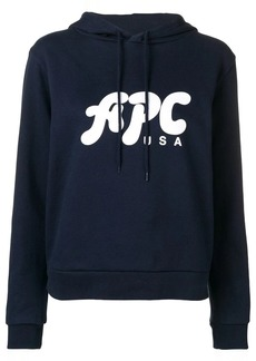 A.P.C. hooded sweatshirt
