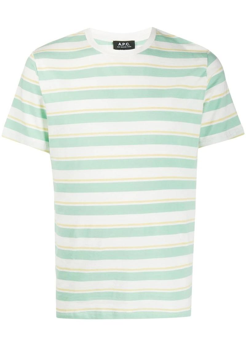A.P.C. horizontal-stripe T-shirt